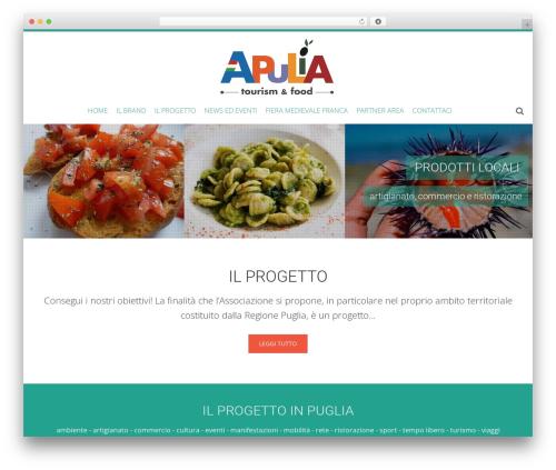 Theme WordPress AccessPress Ray - apuliatourismfood.com/company