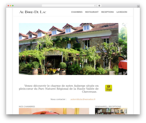 WordPress hmenu plugin - auborddulac.com