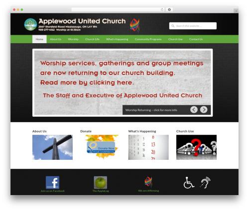 Free WordPress My Quicktags plugin - applewoodunited.ca