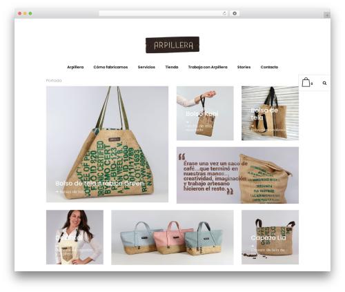 Bazaar theme WordPress - arpillera.es