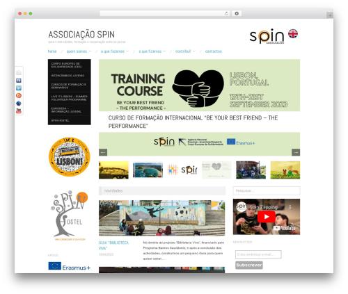 Free WordPress 3D Tag Cloud plugin - a-spin.pt