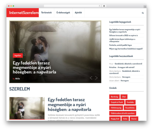 Best WordPress template SocialNow by MyThemeShop - internetszerelem.hu