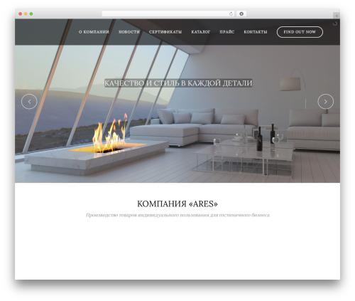 Bridge best WordPress template - ares-opt.ru
