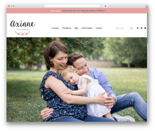 Free WordPress Google Reviews Widget plugin - axianephotographe.fr