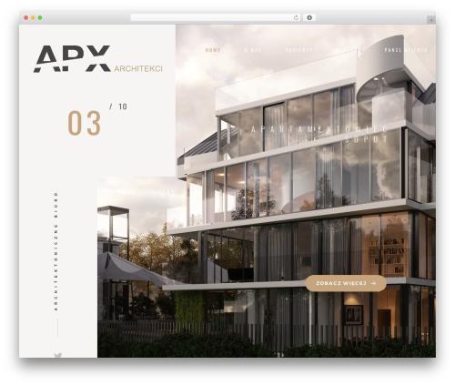 goarch | Templatemonster WordPress theme - apxarchitekci.pl