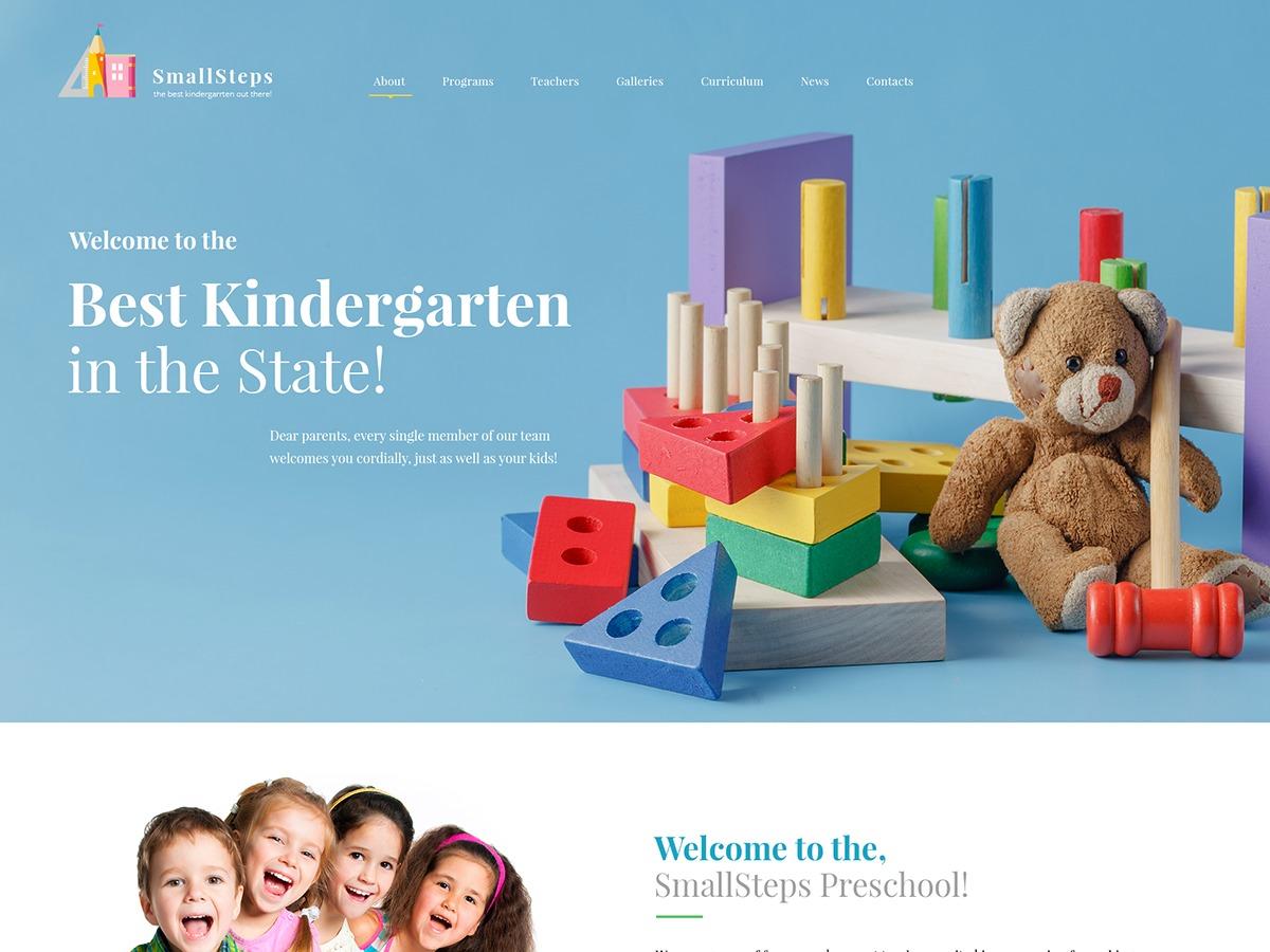 SmallSteps premium WordPress theme
