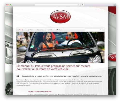SmartShop WordPress shop theme - avsm.fr