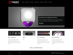target company WordPress theme