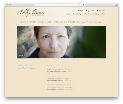WordPress collision-testimonials plugin - ashleybrownpermanentcosmetics.com