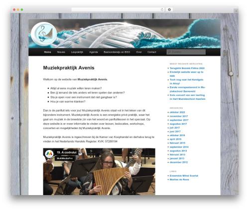 Free WordPress Twenty Eleven Theme Extensions plugin - avenis.nl