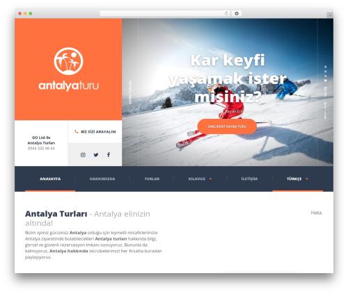 WordPress template Adrenaline PT - antalyaturu.com