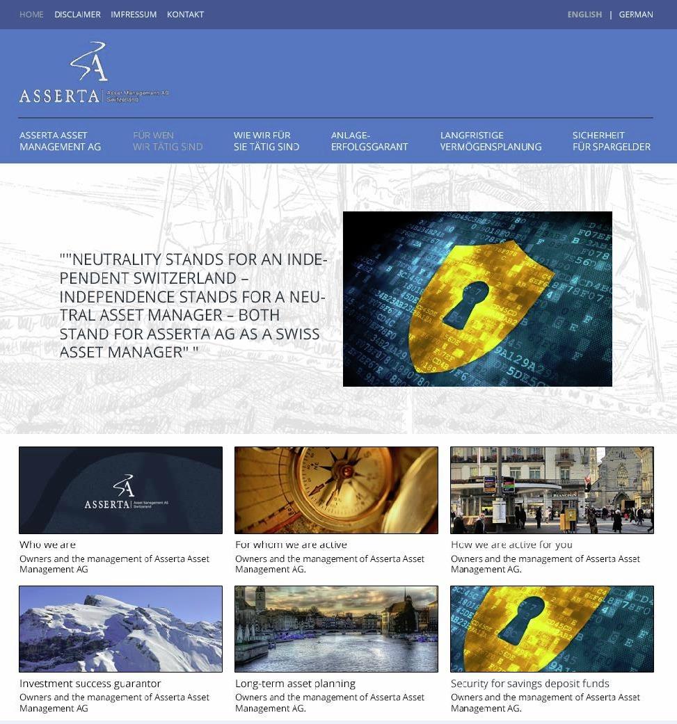 WordPress theme Asserta