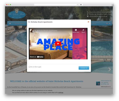 Free WordPress Polylang plugin - apartmentsincorfu.gr