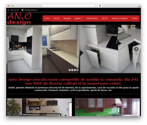 Best WordPress template Envision - antodesign.ro