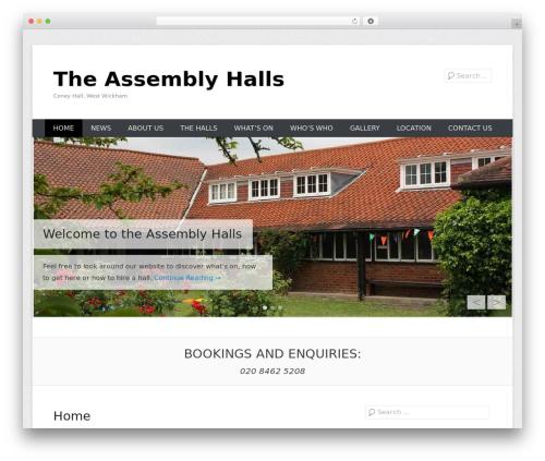 Catch Everest top WordPress theme - assemblyhalls.org