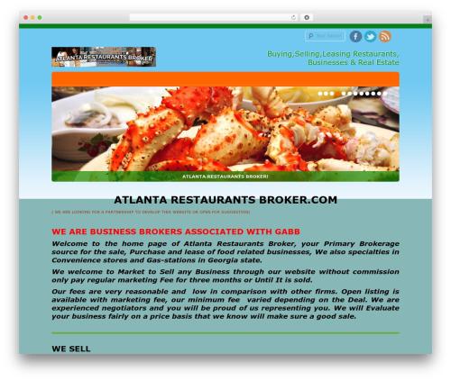 D5 Socialia WordPress theme download - atlantarestaurantsbroker.com
