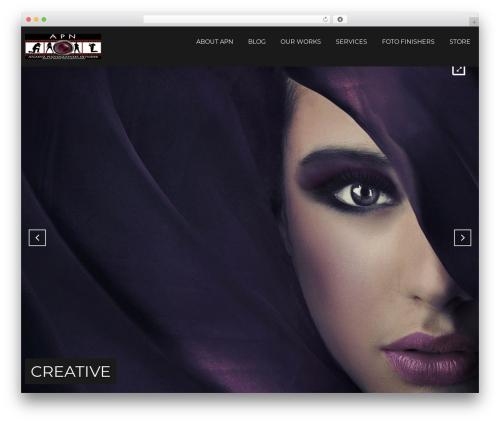 Focal WordPress theme design - atlantaphotographersnetwork.com