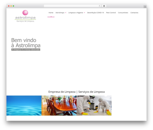 Pro Business company WordPress theme - astrolimpa.com