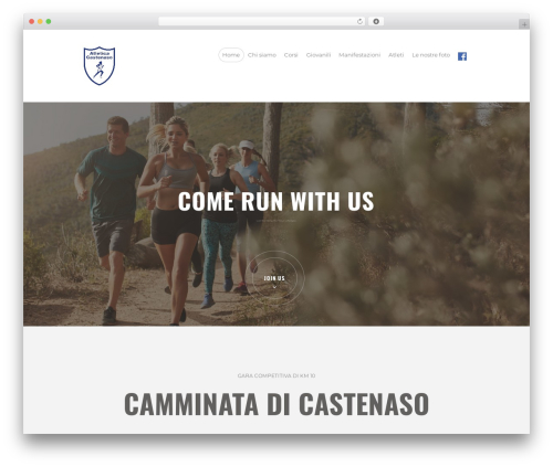 RunCrew template WordPress - atleticacastenaso.com