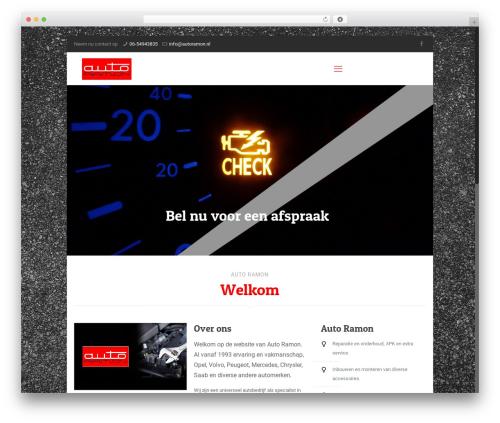 Template WordPress Betheme - autoramon.nl