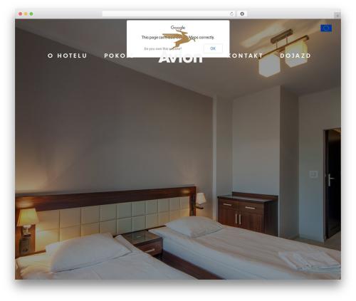 Theme WordPress Avion - avionhotel.pl/pl