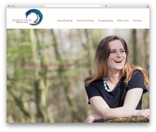 Theme WordPress Bridge - ariane-mihm.de
