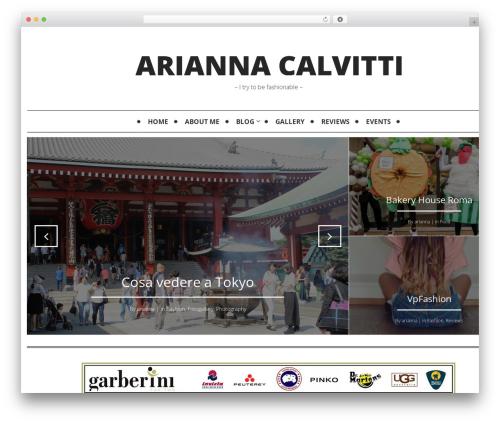 WP theme Mokka - ariannacalvitti.com