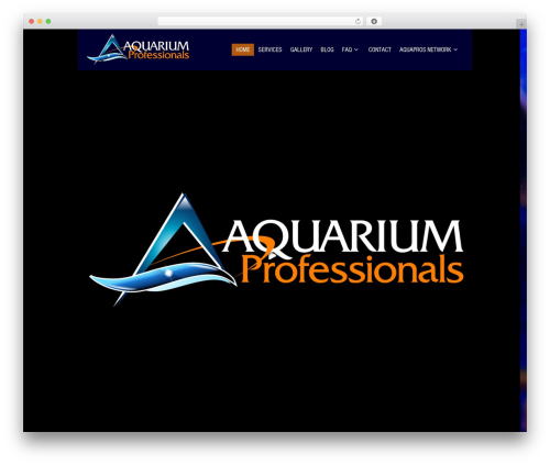 Black Label best WordPress theme - aquaproswny.com
