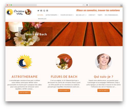 Customizr WordPress theme - astro-therapie.fr