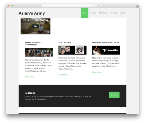 Executive Pro Theme premium WordPress theme - aslansarmy.com
