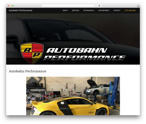 Minimum Pro best WooCommerce theme - autobahn-performance.com