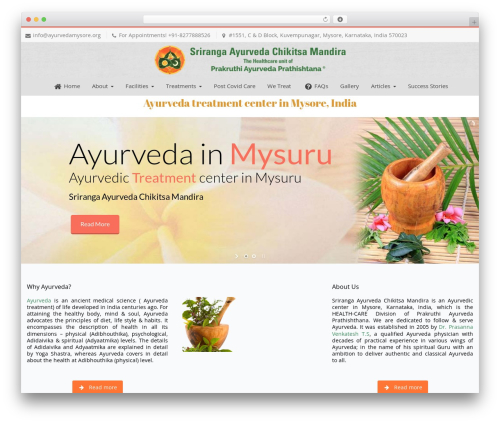 Template WordPress Nimva - ayurvedamysore.org