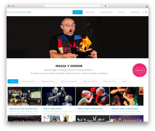 Template WordPress Smart7 - animacionesmagicas.com