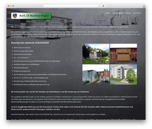WordPress theme !LesPaul - architekt-nigitz.at