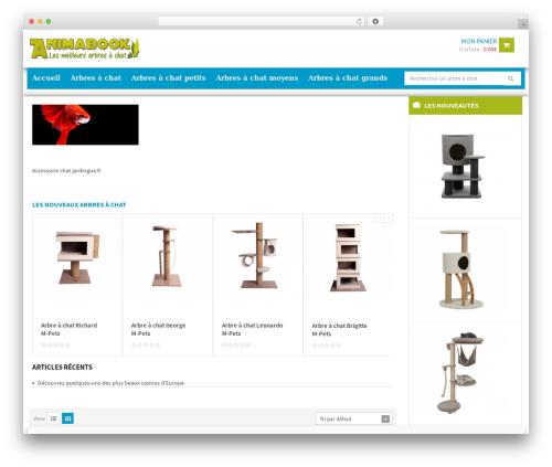 WPO Shopping theme WordPress - animabook.fr