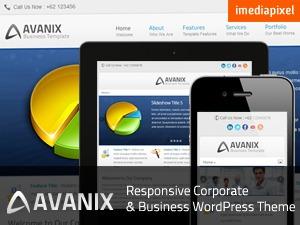 AVANIX business WordPress theme