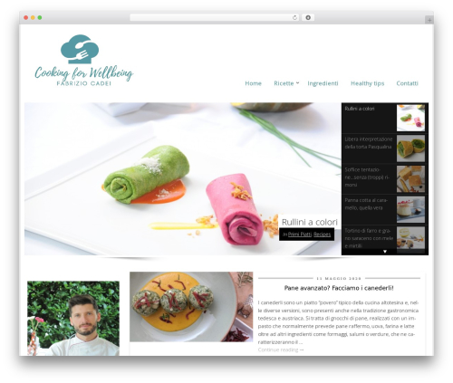 Best WordPress theme CookingPress - fabriziocadei.it