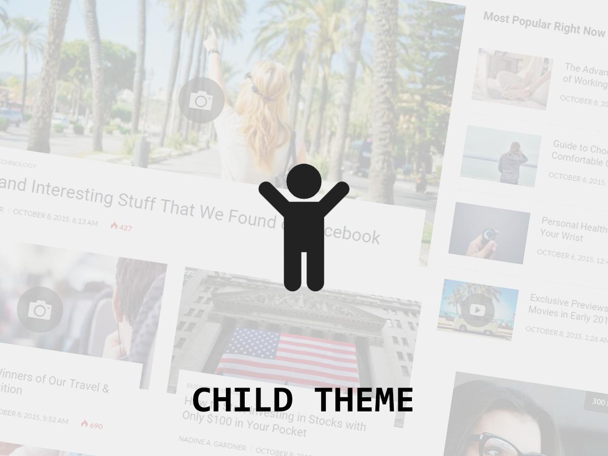Bitz Child WP theme