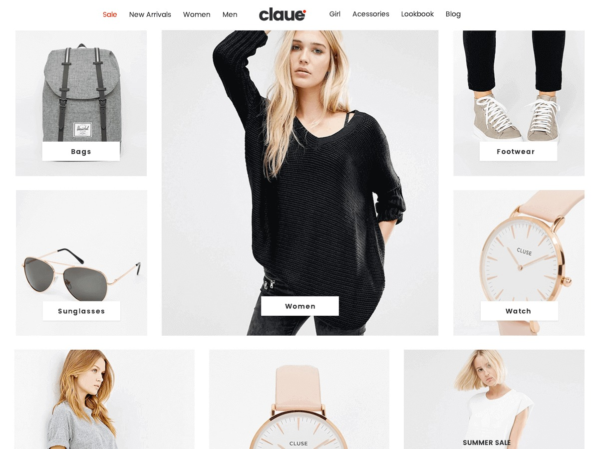 Claue best WooCommerce theme