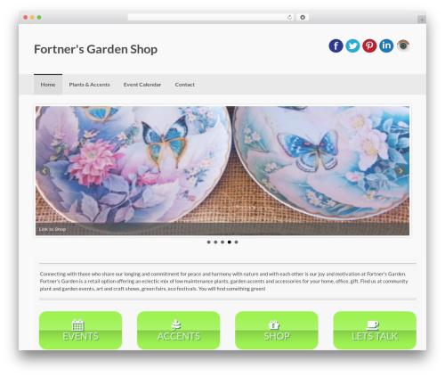 Coller theme WordPress free - fortnersgardenshop.com