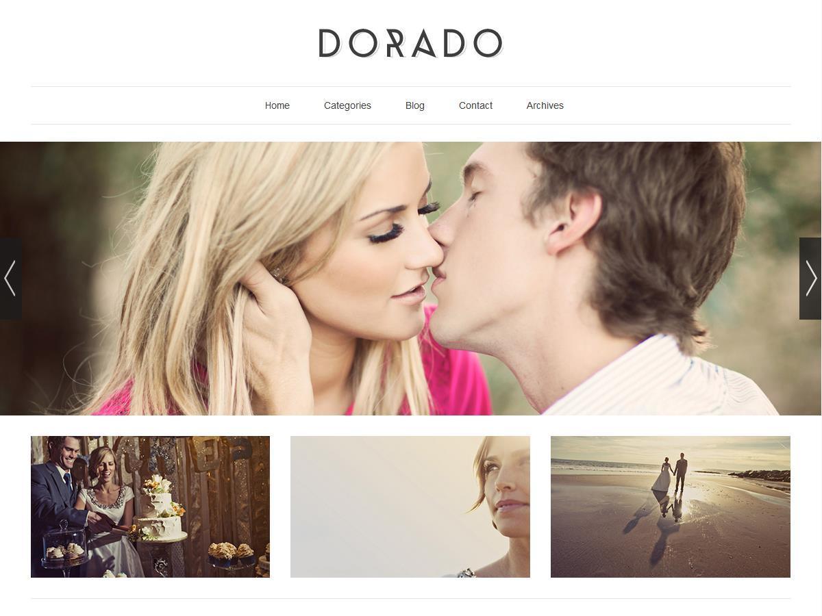 Dorado Blogsite (ITDR) WordPress blog theme