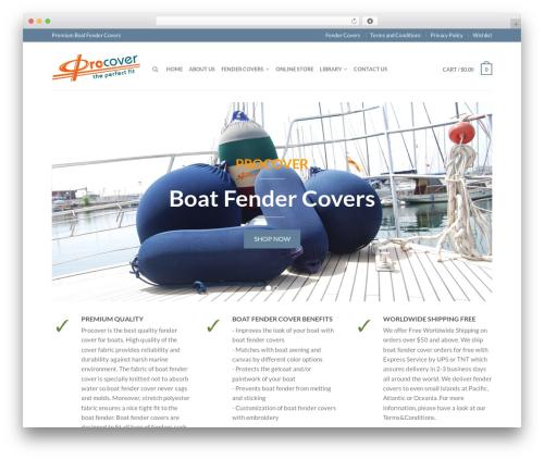 Flatsome Themekiller.com WordPress theme - fender-covers.com