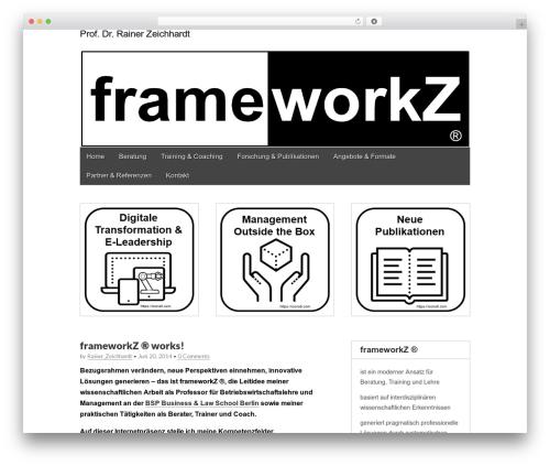 Gridiculous free WordPress theme - frame-workz.com
