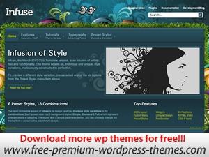 Infuse Wordpress Theme WordPress theme