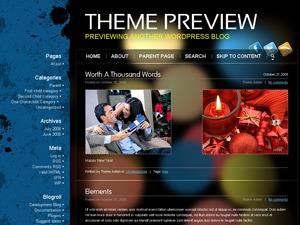 Möbius best WordPress template