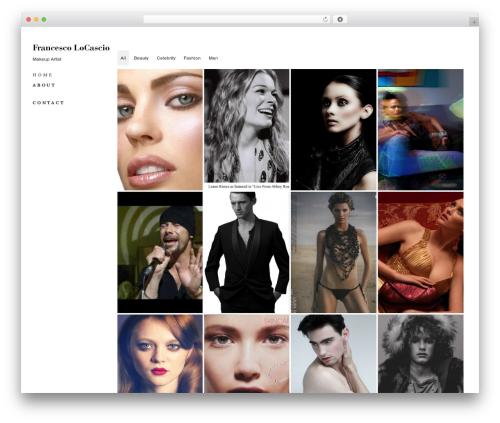Model Portfolio Best Portfolio Wordpress Theme By Wpshower