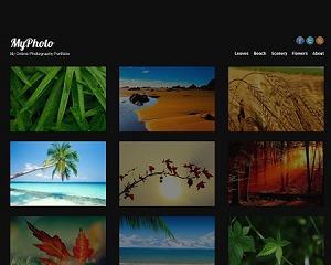 MyPhoto Wordpress Theme WordPress gallery theme