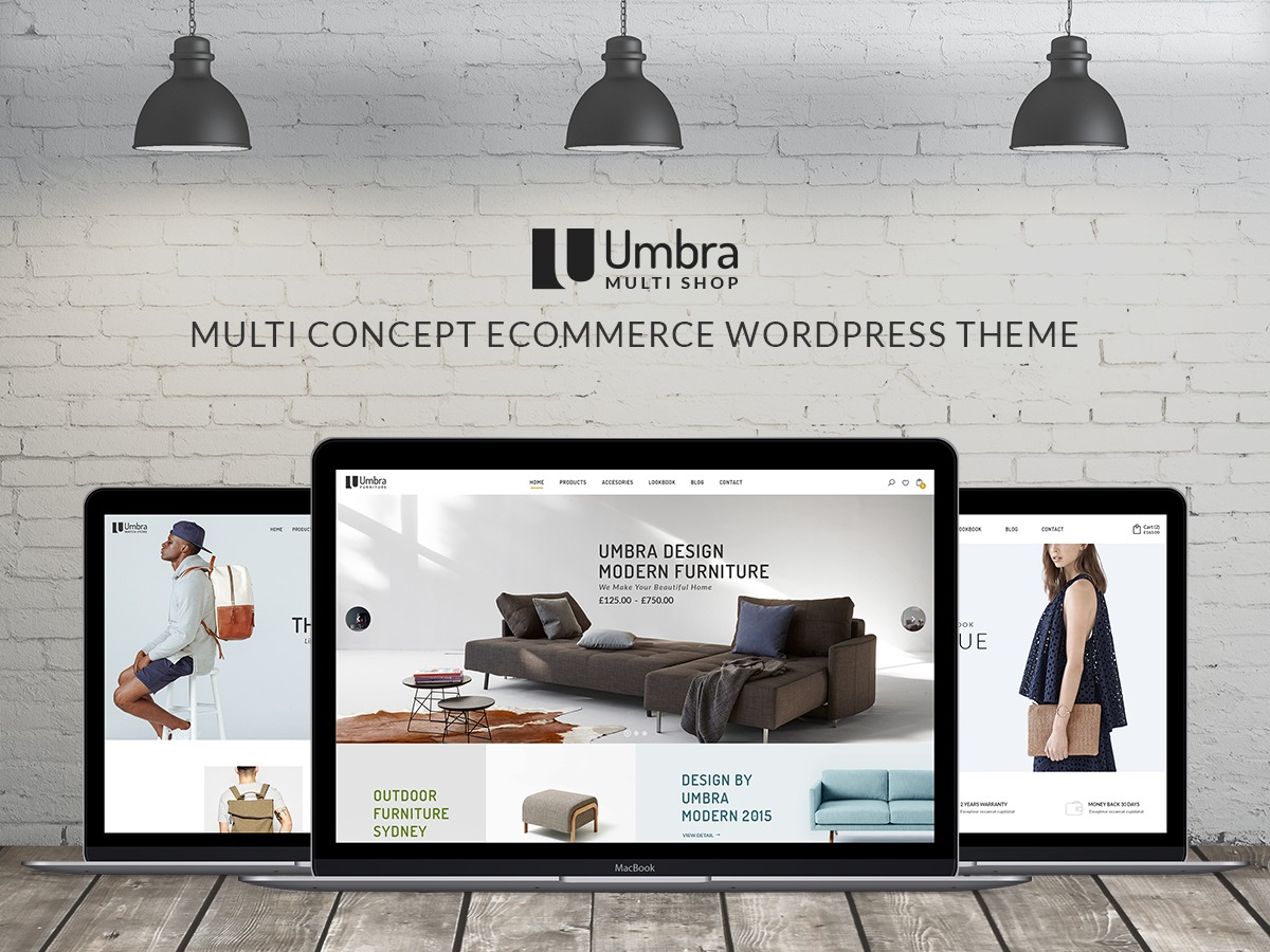 NOO Umbra WordPress store theme