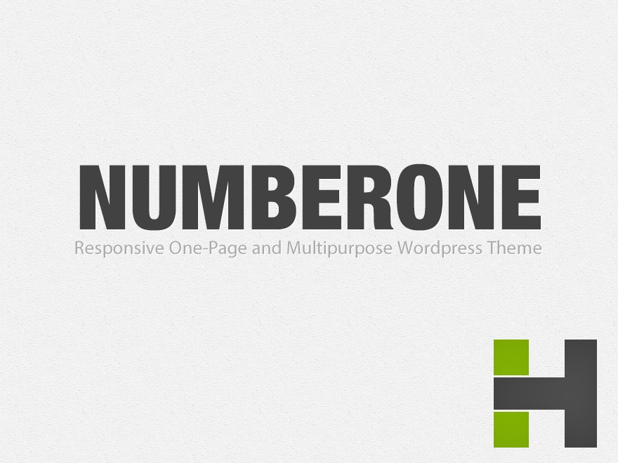 NumberOne WordPress theme