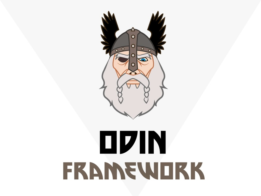 Odin WordPress page template